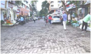 Gilbert Hill Road upto jesal apts & Dawood bag road work in progress 1