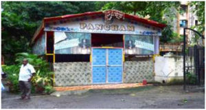 Shed at Pancham Society