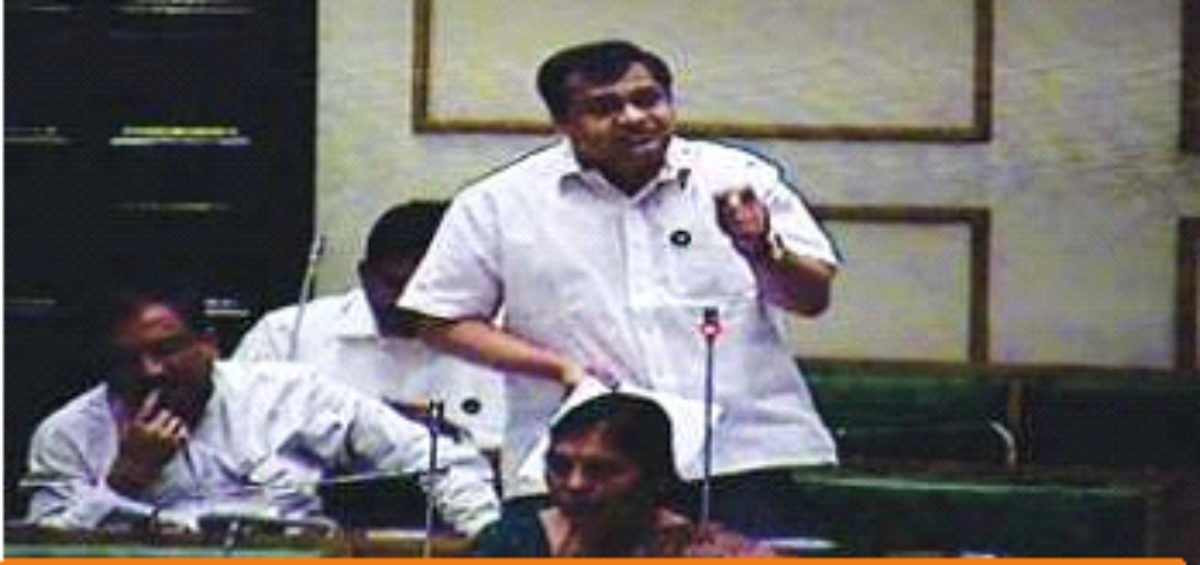 Spoke climate change on agriculture in budget