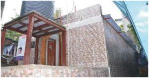 Starred toilets at Khajur Wadi, Samata Nagar, Junaid Nagar, wireless road, juhu Gully Toilet1