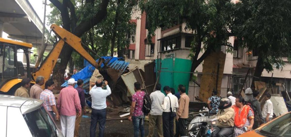Demolition Of Illegal Furniture Shops