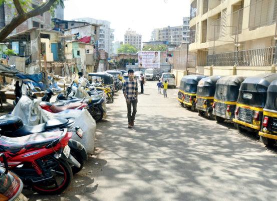 Ameet Satam helps to build road